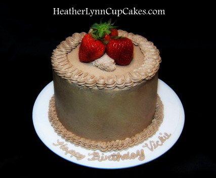 Gluten Free Dairy Free Cake by HeatherLynnCupCakes.com