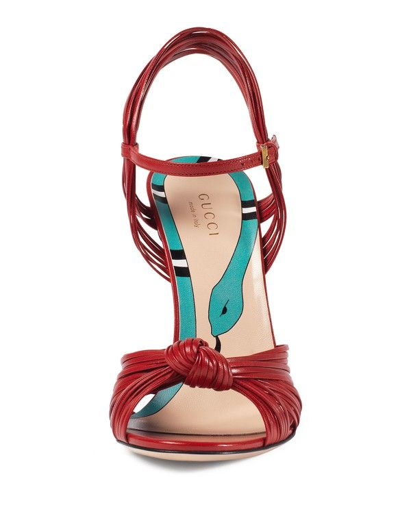 21f572161c2 Gucci - Allie Leather Knot Sandal