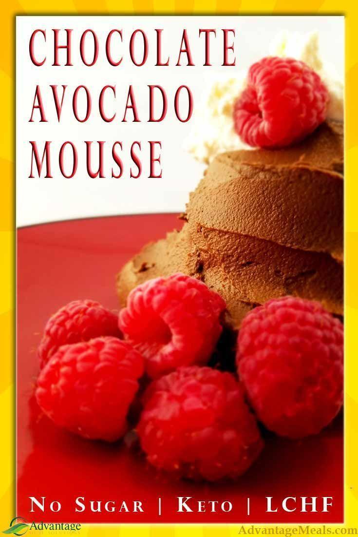 Avocado mousse recipe recipe low carb recipes dessert