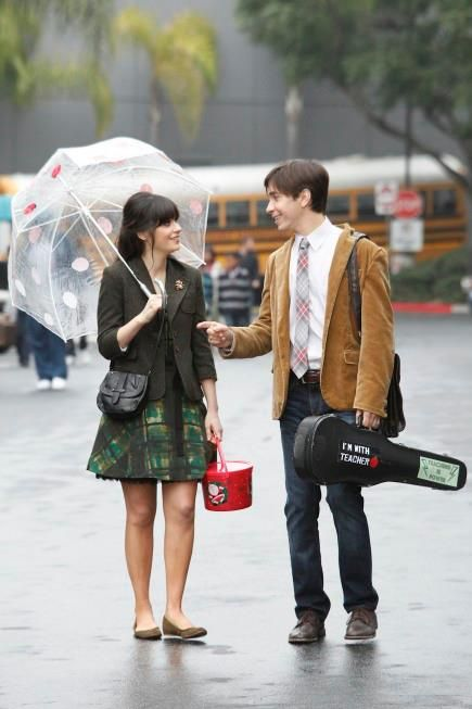 Fashion Blog: T.V. Obsession: Zooey Deschanel in New Girl