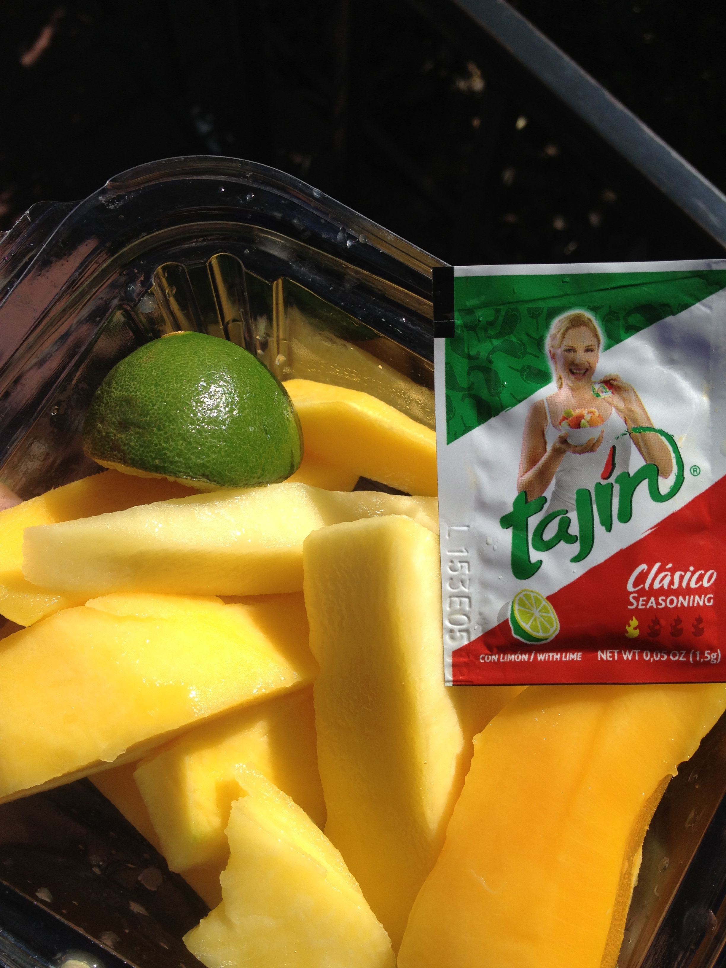 Healthy Snack At Disneyland Mangos Lime And This Amazing Spice Packet Delish Tajin Seasoning Healthy Snack Options Healthy Snacks Tajin Recipes