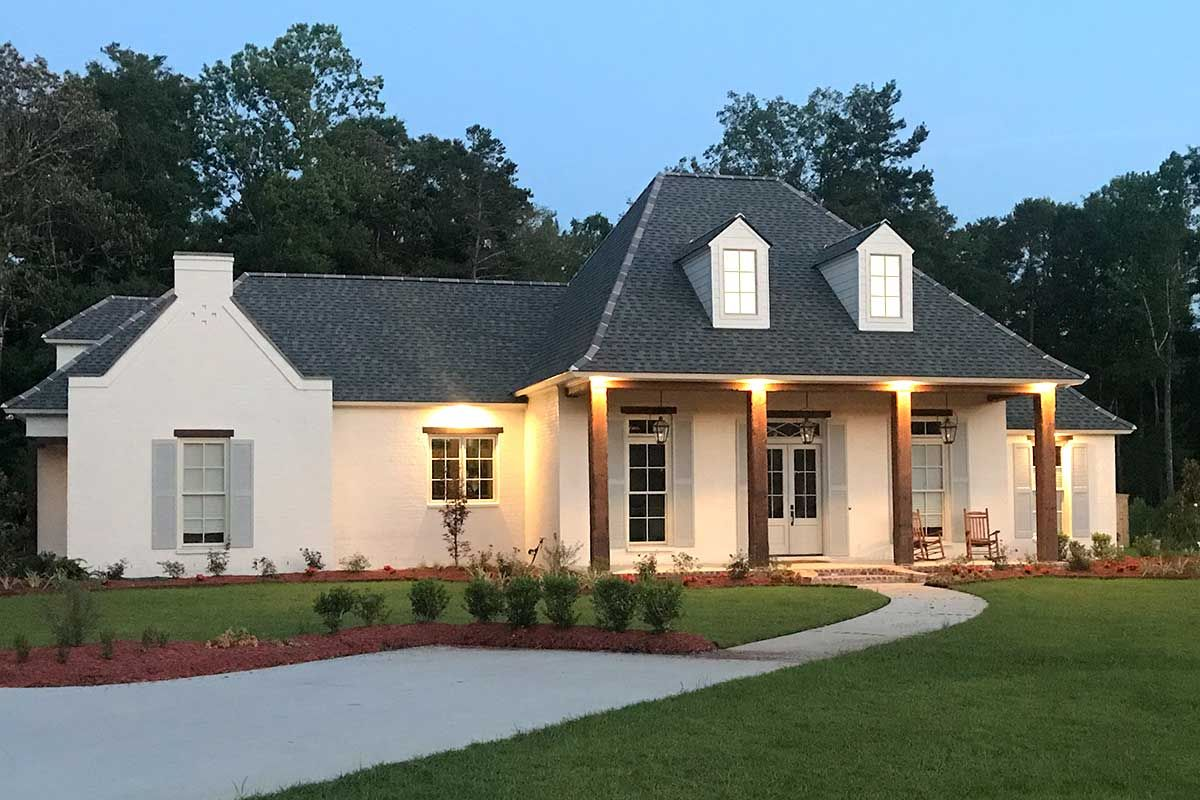 Photo of Plan 56426SM: Four Bed Southern Home Plan with Optional Bonus Room
