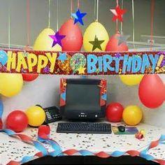 office birthday decoration ideas. office birthday decoration ideas my pinterest f