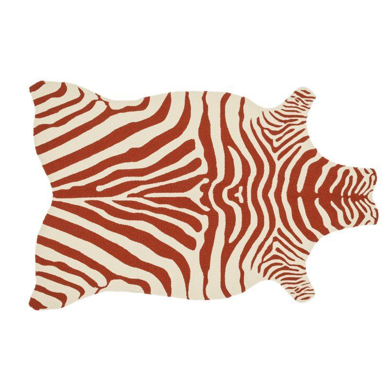Our Animal Friendly Faux Hide Area Rug Features Glamorous Gold Zebra Stripe Patterns That Shine From A Creamy Ivory Background Beyond Its Shimmering