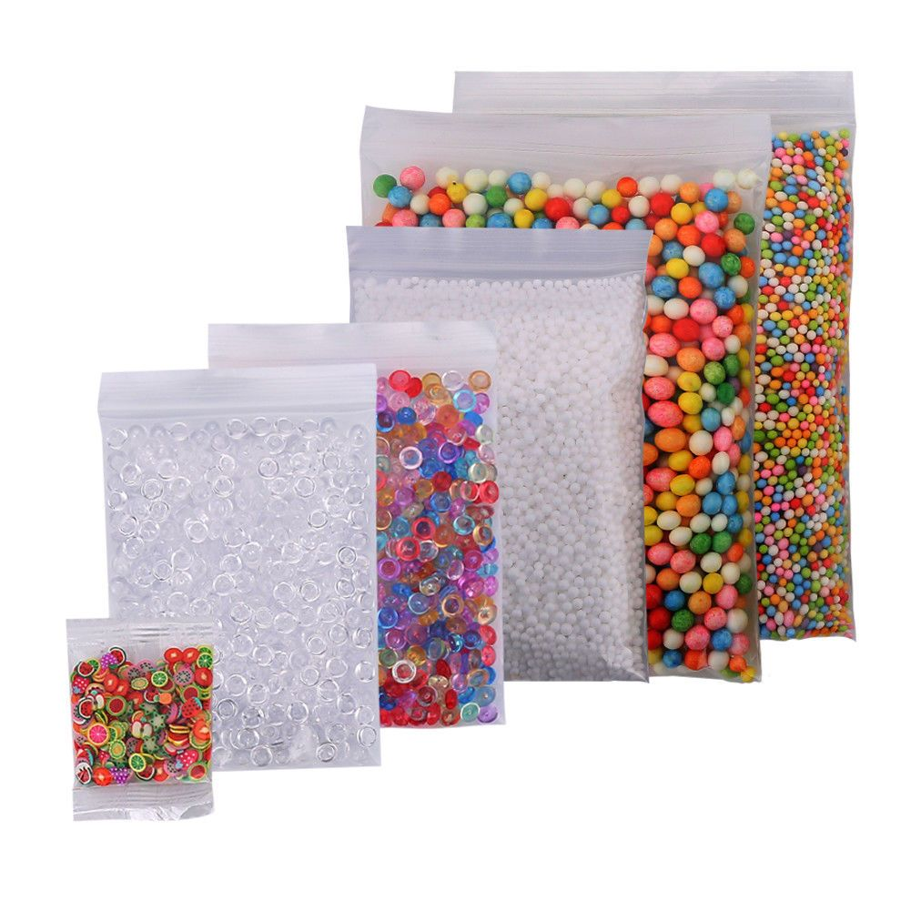 Fishbowl Beads Colorful Beads for Crunchy Homemade Slime DIY CraftsParty