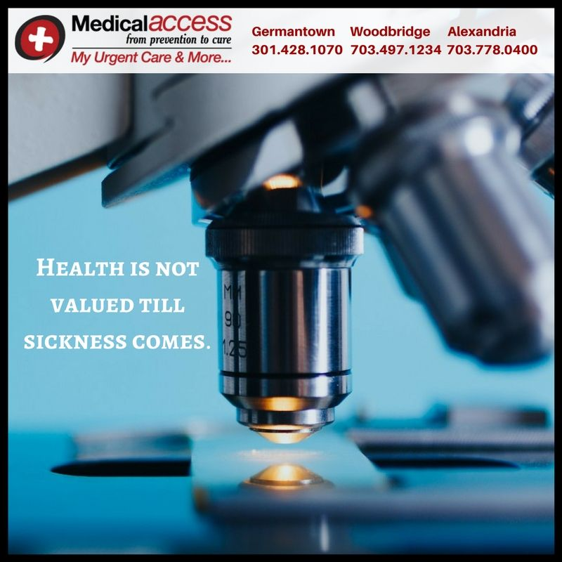 Urgent care clinics can be your first choice when you or