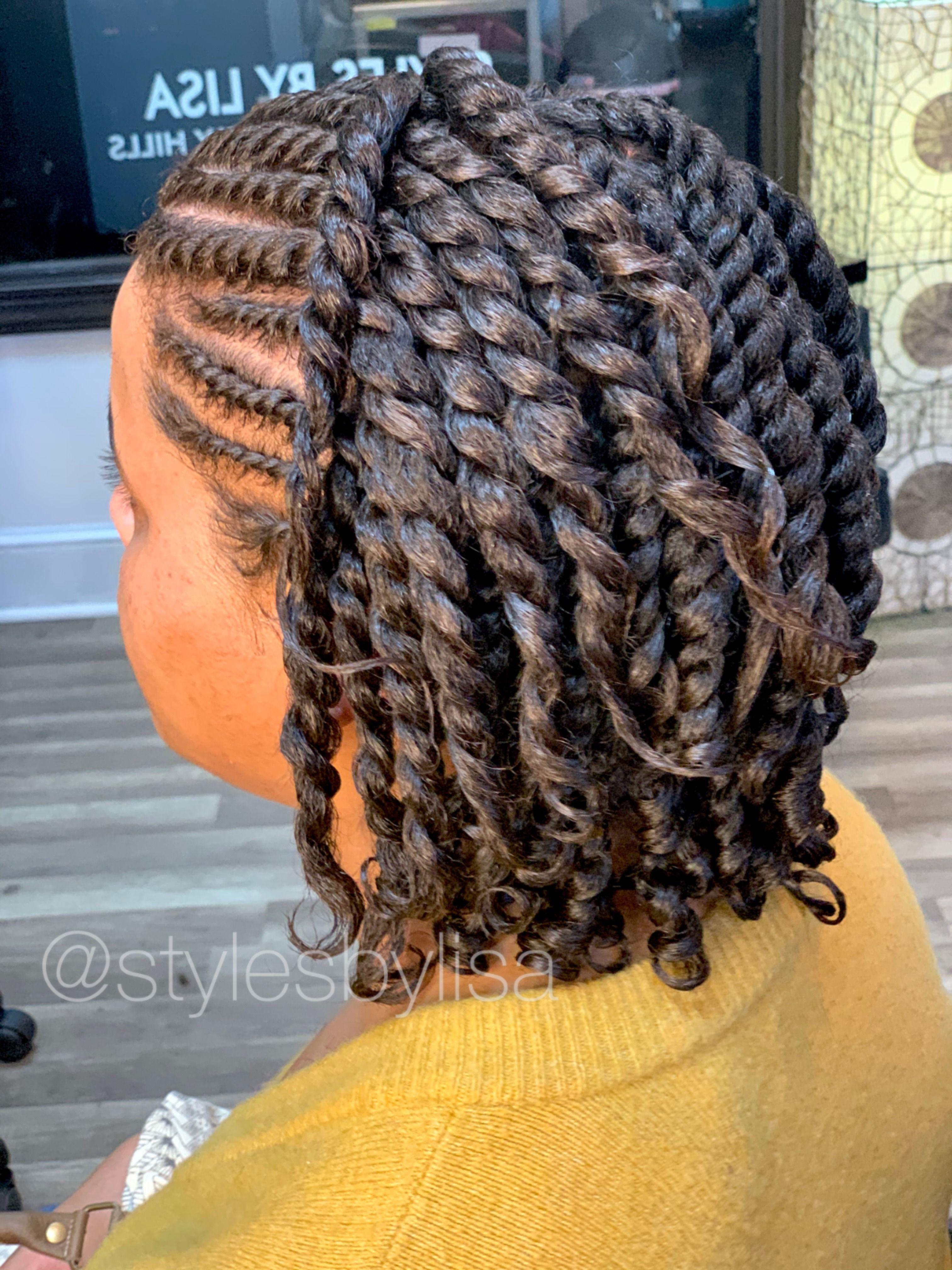 Two Strand Twist Styles Hair Twist Styles Natural Cornrow Hairstyles Natural Hair Styles