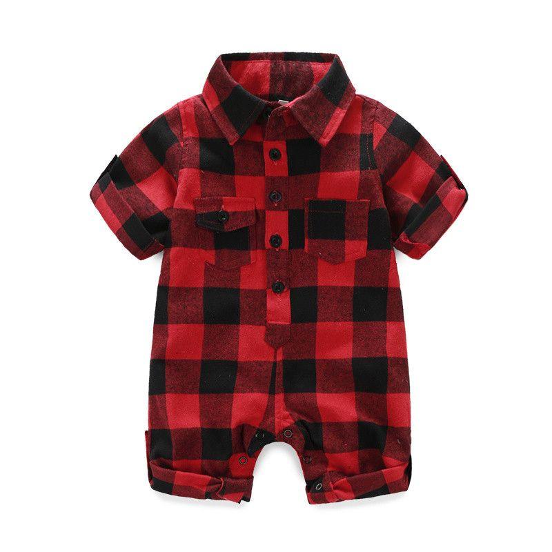 28dba258d220c Moda macacão de Recém nascidos bebes Bebê menino Romper marca de bebê Recém  nascido roupas de boneca Bebê menino Roupas de Manga longa + chapéu em ...