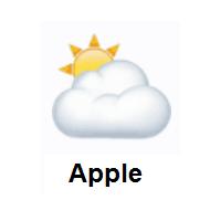 Cloud Cover Sun Behind Cloud Emoji Cloud Emoji Emoji Clouds