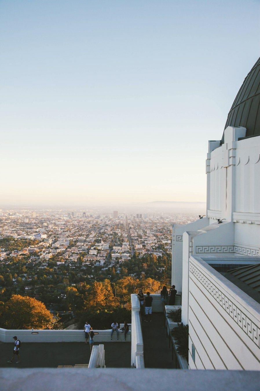 Los Angeles La Nouvelle Vague Voyage Californie Observatoire Griffith Angeles