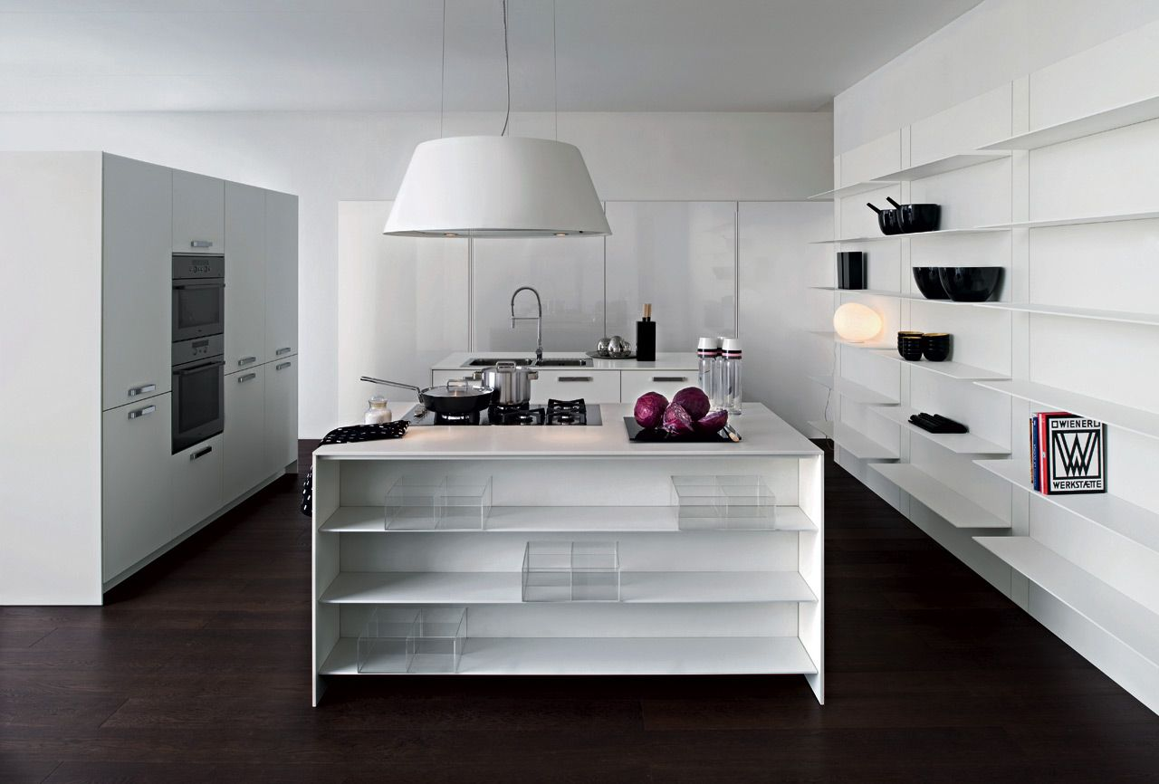 Cucina moderna ad isola living Playground  Elmar Cucine  Home Decor  Pinte...