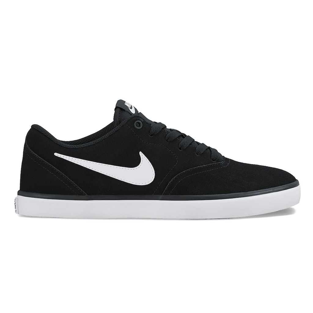 Nike SB Check Solarsoft Men's Skate Shoes, Size: 14, Black