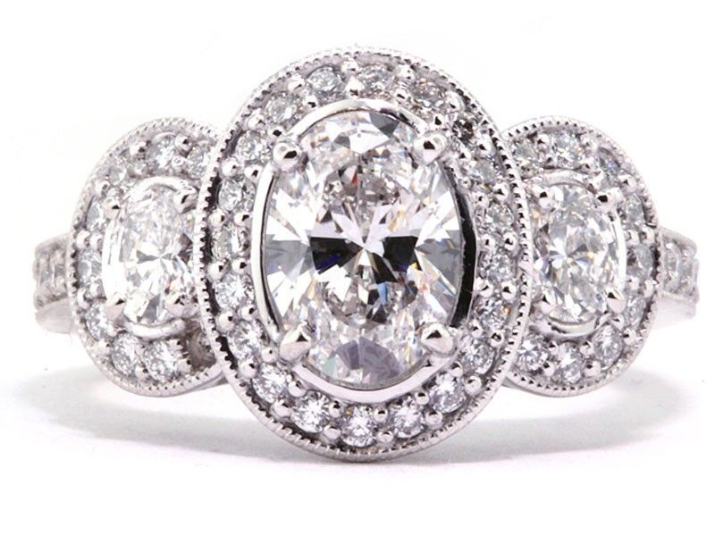 Love Oval Engagement Rings Just Enough Old School To Be Classy And