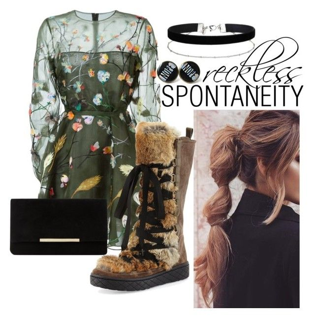 """""""Reckless Spontaneity"""" by keylingering on Polyvore featuring Valentino, Moncler, Dune and Miss Selfridge"""