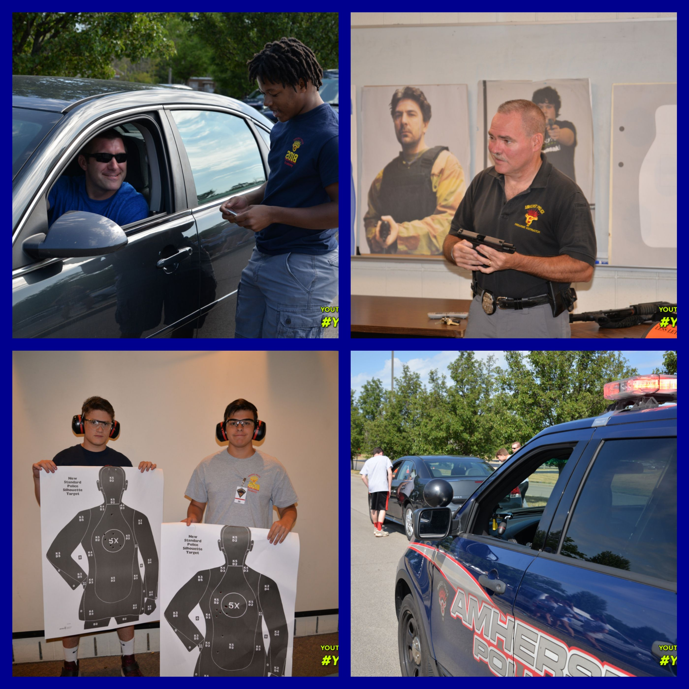 AMHERST, NY] -- WEEK 2 - Summer 2018 Amherst Police Department Youth