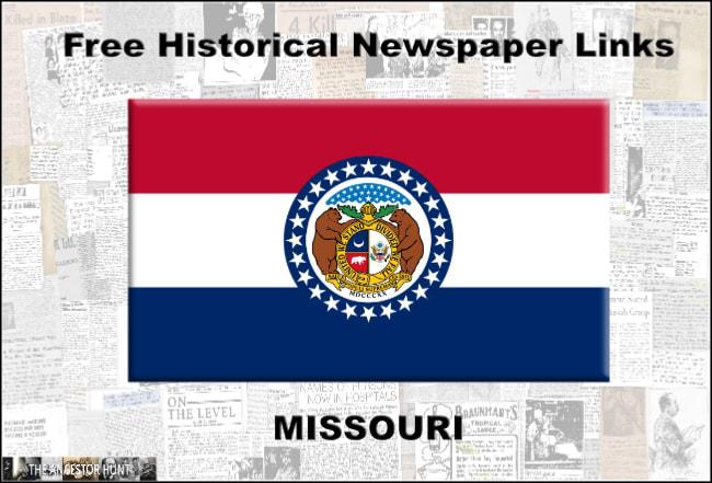 Missouri Online Historical Newspapers Summary Historical Newspaper Newspapers Historical