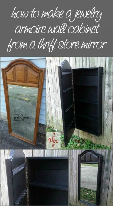 Mirror Jewelry Armoire Mirror jewelry armoire Dresser mirror and