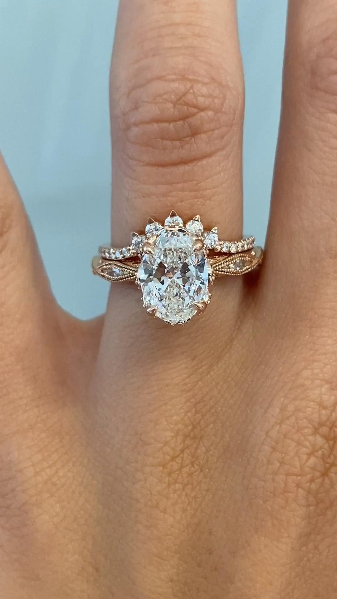 Odessi & Anne - Unique Diamond & Rose Gold Handcra