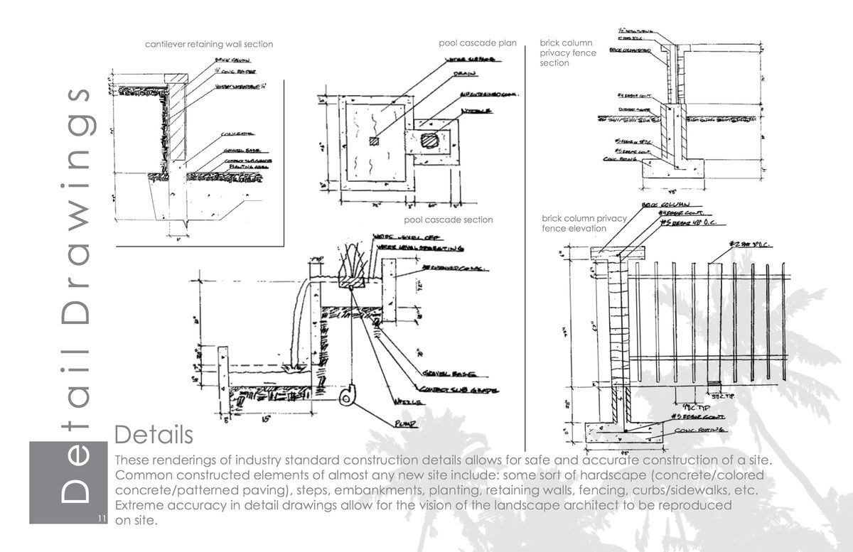 Bathroom section drawing - Drawing For Landscape Architects Construction And Design Manual Pdf