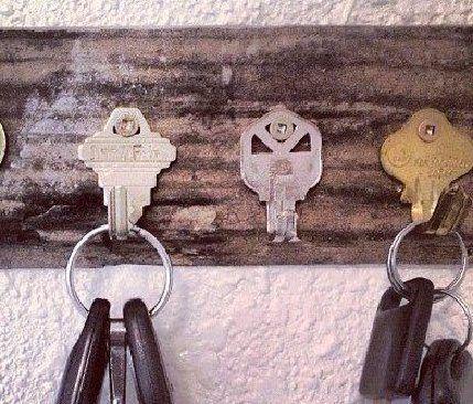 Old Keys For Key Hanger