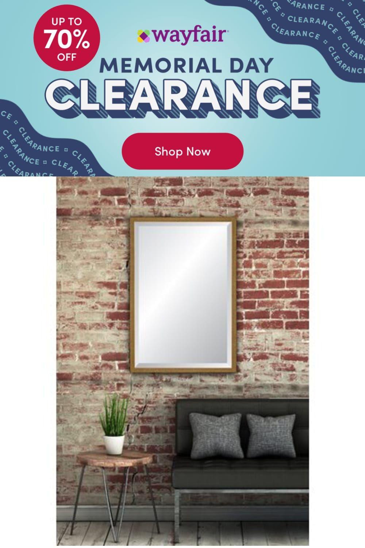 Photo of Mercer41 Renada Venetian Lattice Beveled Accent Mirror, Wood, Size 35.75″ x 22.75″   Wayfair   Home Decor
