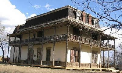 Melvin Mills Mansion Springer New Mexico I Wanna Stay There