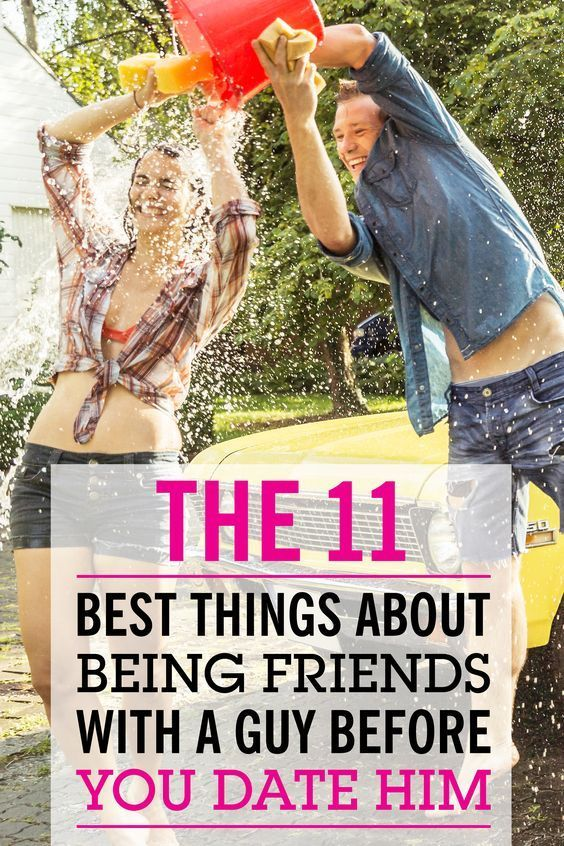 How To Be Friends With A Guy Before Dating Him
