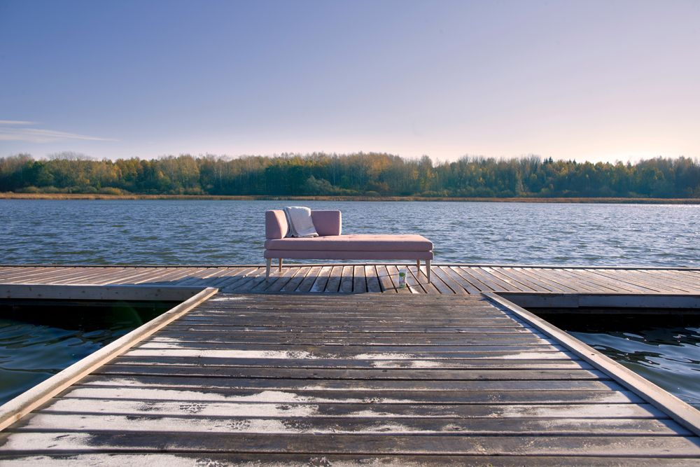 Autumn time with LERCHE home and Siesta on the lake side!