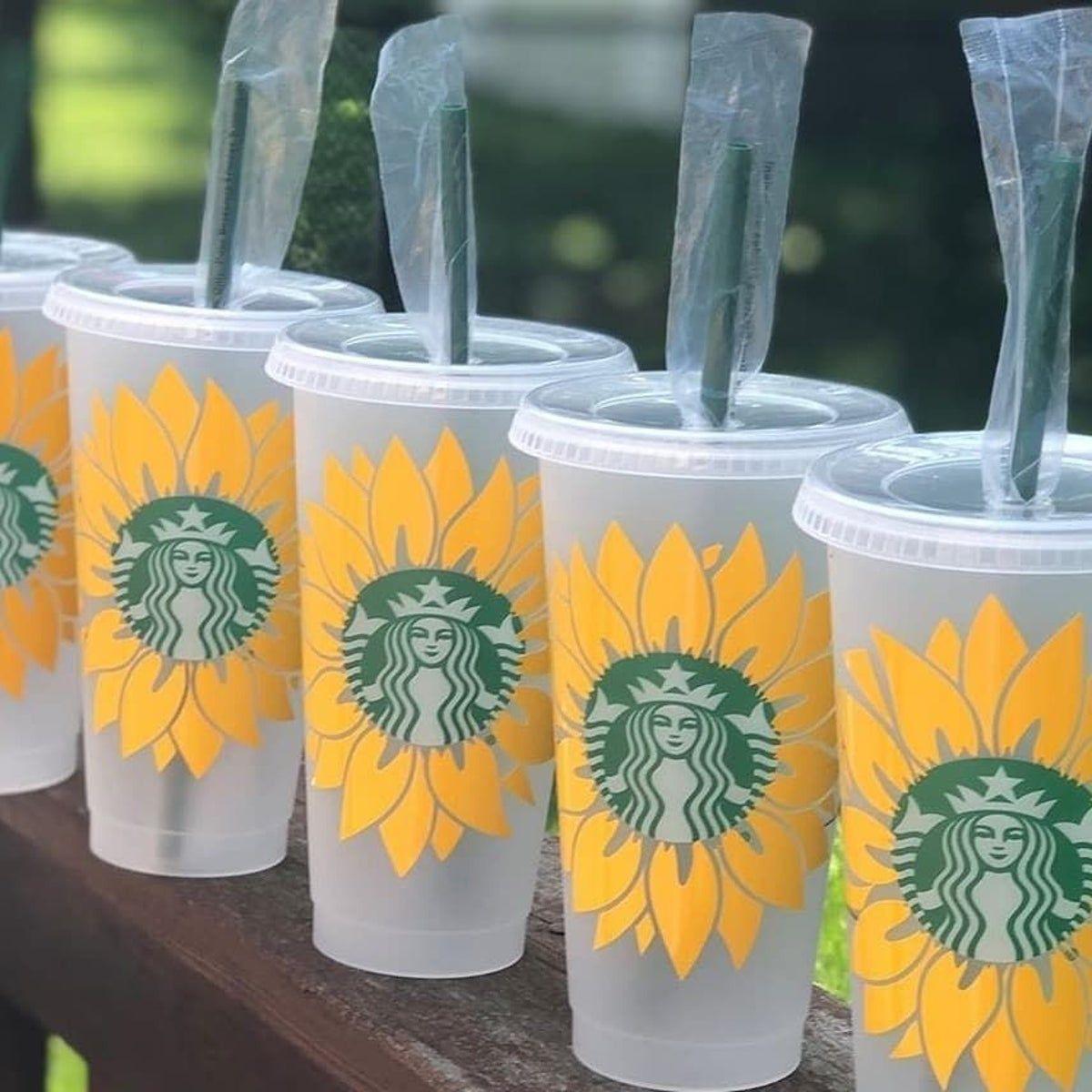 Download sunflower Starbucks cold cup on Mercari #starbuckscups ...