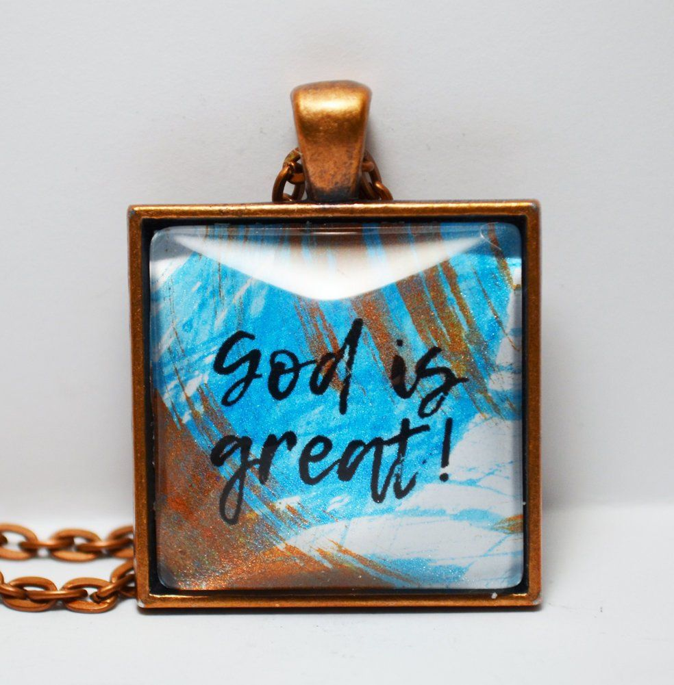 CLOSING SHOP SALE Saved By Grace Pendant Necklace C L Murphy Creative CLMurphyCreative