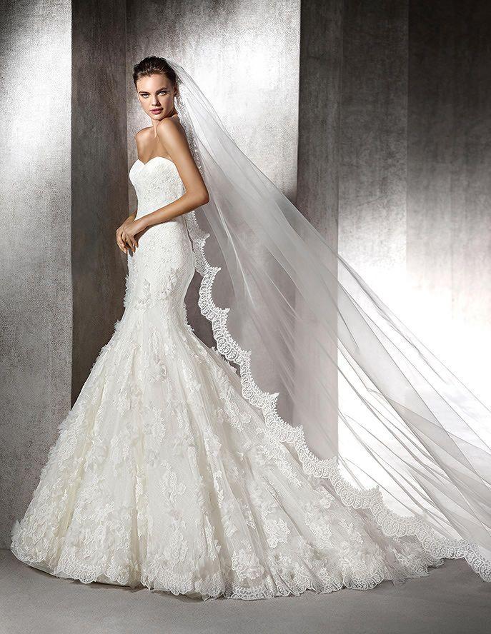 Zurie, mermaid wedding dress, sweetheart neckline | Dream Wedding ...