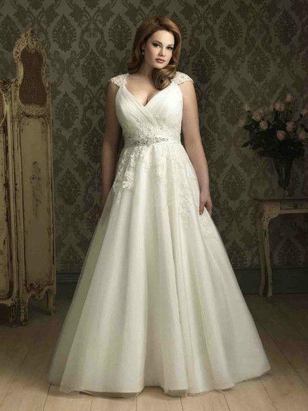 Modelos de vestidos para novias gorditas