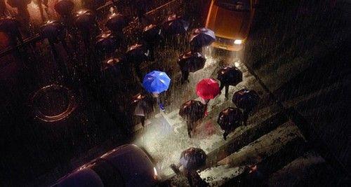 Pixar's Blue Umbrella