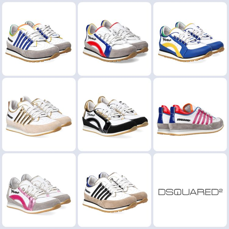 DSquared sneakers for boys and girls