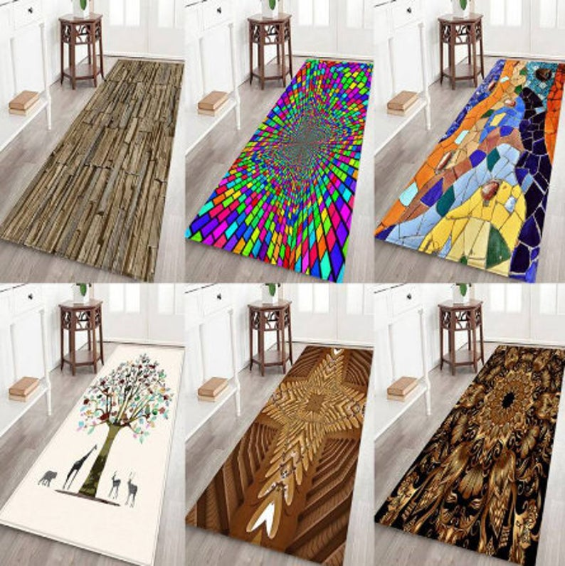 12 Styles Creative Slip Doormat Kitchen Europe Carpet Printing Etsy In 2020 Classic Carpets Door Mat Carpet