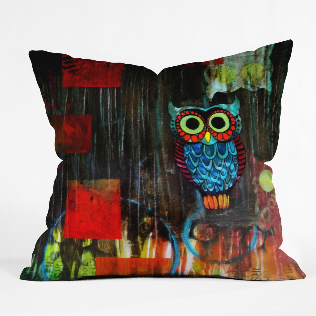 Sophia Buddenhagen Nocturnal 1 Throw Pillow | DENY Designs Home Accessories