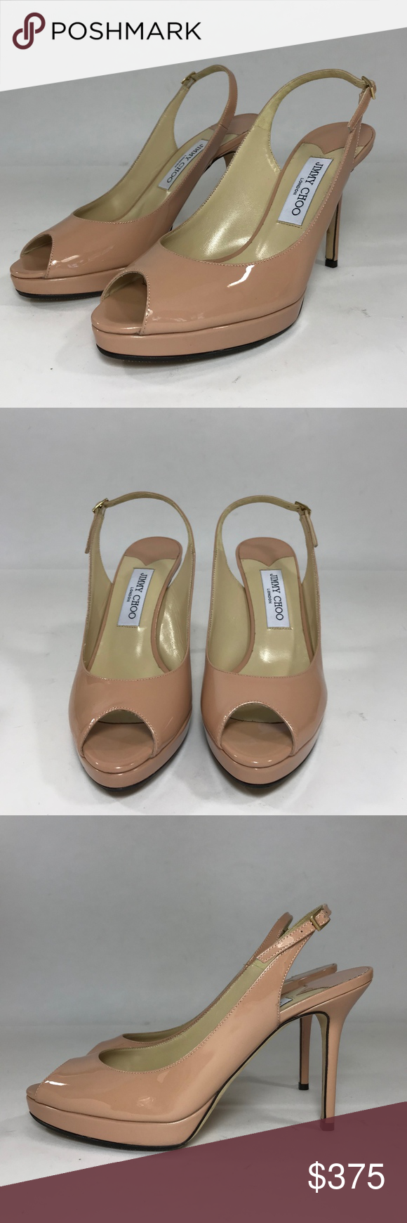 6b9df4fb4654 Jimmy Choo Nova Slingback Pump in Blush Patent MODEL - Jimmy Choo Nova  Slingback Pump in Blush Patent SKU - 1697 ORIGINAL RETAIL PRICE - 665 +tax  SIZE - US ...