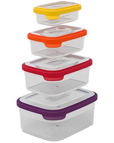 Joseph Joseph 81009 Nest Storage Plastic Food Storage Containers