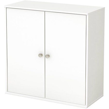 South Shore Store It Collection 4 Cubby Pure White Cubby Storage Storage Shelves Storage