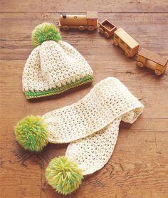 59d27732acbe Voici des modèles au crochet pour bébé , avec leurs diagrammes gratuits ,  ou leurs grilles gartuites .. Un joli modèle d écharpe bébé a u crochet ,  ainsi ...