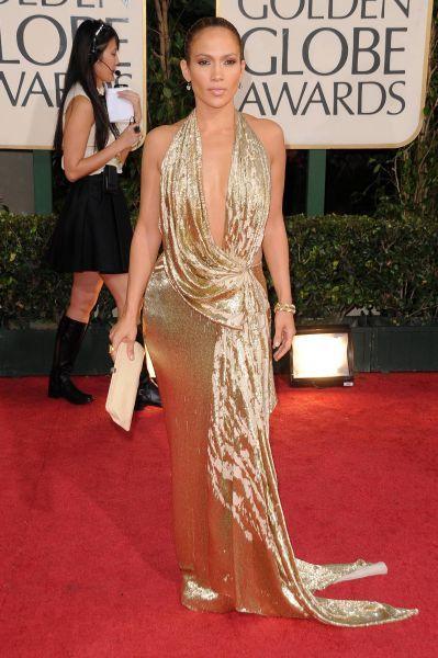 814c81348e7 Jennifer Lopez de Marchesa. Las famosas y sus vestidos de fiesta. Alfombra  Roja.
