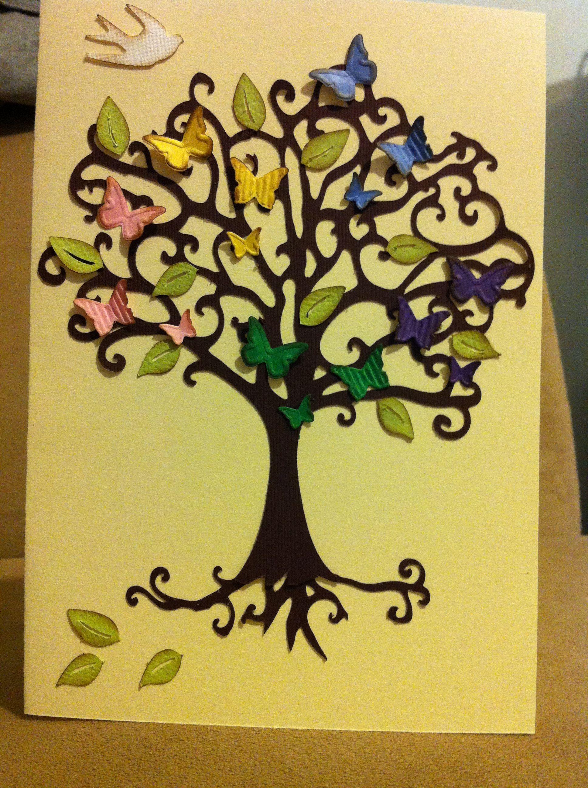 Family tree card. | My creations | Pinterest | Family trees
