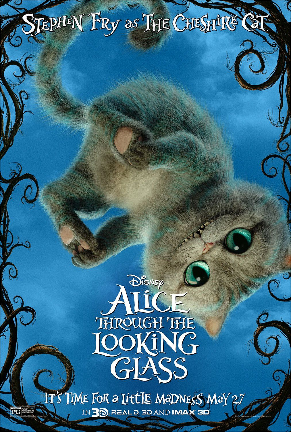 Alice Through The Looking Glass Character Posters Released With