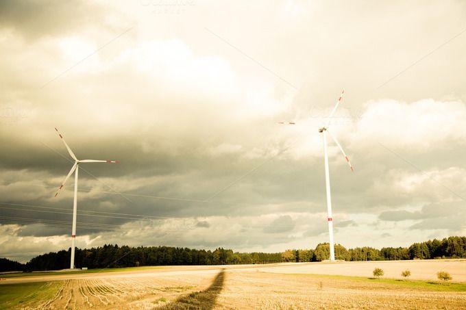 wind engine wheel ~ Technology Photos on Creative Market