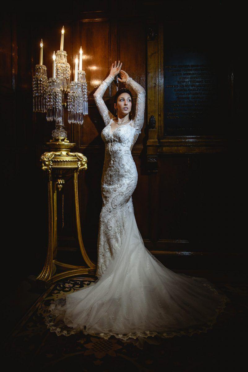 Icelight portrait of the bride http://umbrellastudio.co.uk #weddingphotographersurrey #weddingphotographysurrey #weddingphotographer