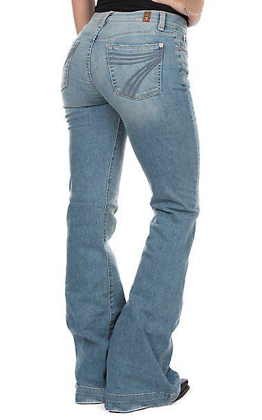 7 For All Mankind Women S Desert Heights Dojo Original Trouser