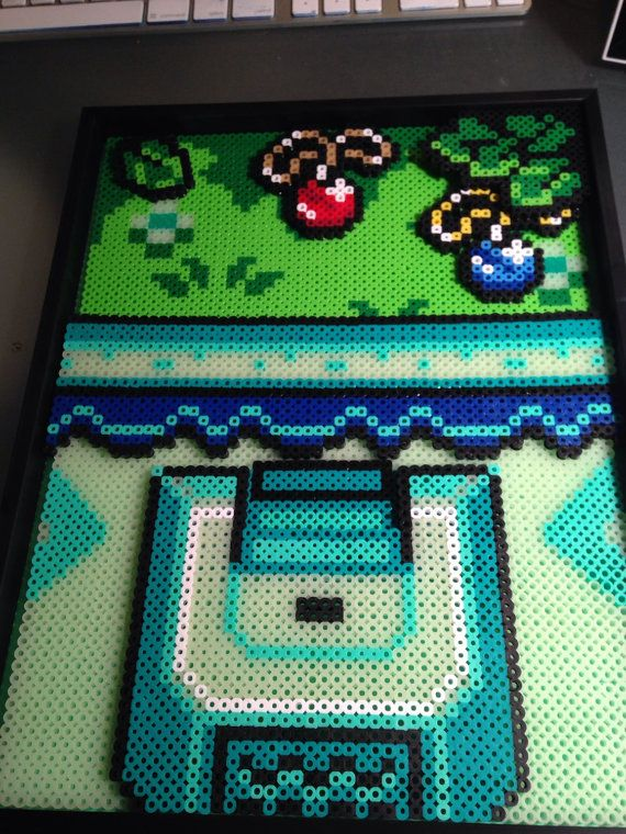 Inspired from the Legend of Zelda game, Link to the Past