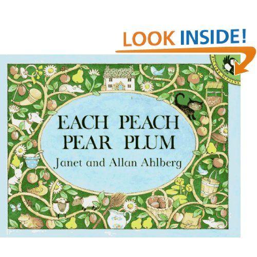Each Peach Pear Plum Picture Puffins