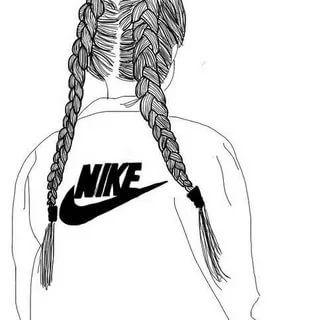рисунки девушек в спортивной одежде в стиле тумблер: 7 тыс ...