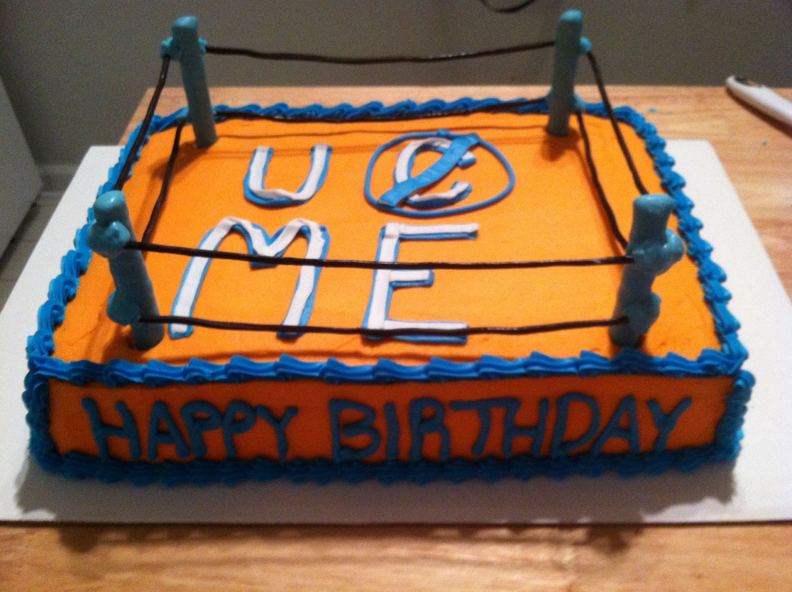 Sensational John Cena Cake Just For Him Happy Birthday In April 23 With Personalised Birthday Cards Paralily Jamesorg